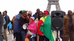 Peuple congolais au Trocadero