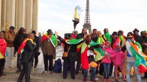 Peuple congolais au Trocadéro 25022017